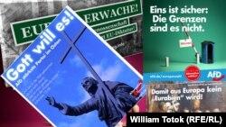 Afişe electorale radicale (Montaj: William Totok)