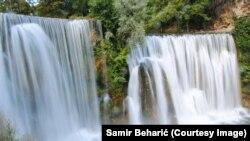 Vodopad rijeke Plive u Jajcu