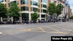 Alegători români la Londra