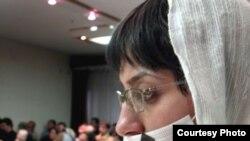 نسیم خسروی، فعال زندانی جنبش زنان.(عکس: سایت کسوف)