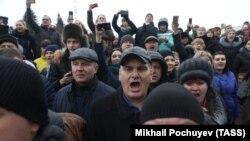 Акция протеста в Волоколамске