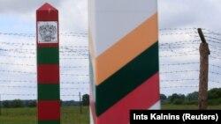 Граница между Литвой и Россией