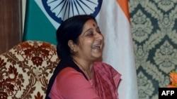 Министр иностранных дел Индии Сушма Сварадж.