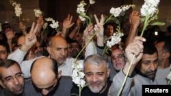 گروگانهای ایرانی آزادشده در سوریه