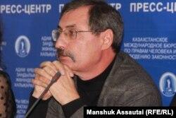 Kazakhstan - Human rights defenders and lawyers Evgeny Zhovtys, Aiman Omarova and Inara Masanova. Almaty, 29 January 2020