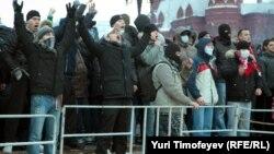 Ռուսաստան - 2010 թվականի դեկտեմբերի 11-ի հակակովկասյան բողոքի ցույցը Մոսկվայի Մանեժնայա հրապարակում