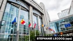 Ndërtesa e Parlamentit Evropian në Bruksel