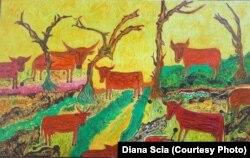 Картина «Червоні корови»