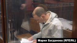 Сергей Генин на суде по избранию ему меры пресечения