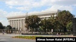 Здание парламента Кыргызстана.