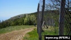 Загородження Орлиновського мисливського господарства на мисі Айя