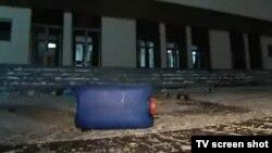 Першае кіно пра Плошчу беларускія тэлевізійшчыкі зьнялі па гарачых сьлядах у ноч пасьля разгону