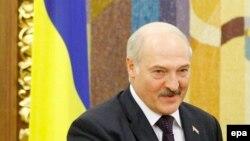 Аляксандар Лукашэнка ў Кіеве, архіўнае фота