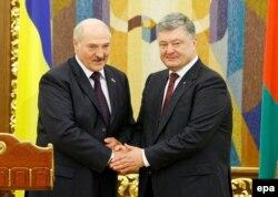 Аляксандар Лукашэнка і Пятро Парашэнка, 2017