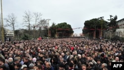 Анти владини протести во Тирана - Јануари 2011