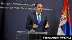 Српскиот министер за трговија, туризам и телекомуникации Расим Љајиќ