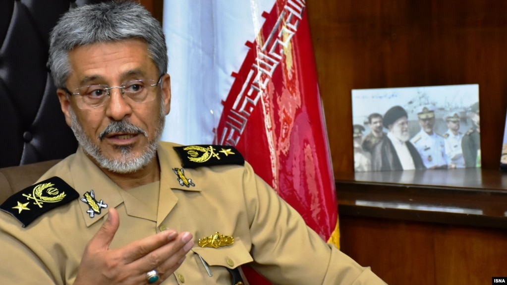 Habibollah Sayyari, deputy commander of Iran's regular army. FILE PHOTO