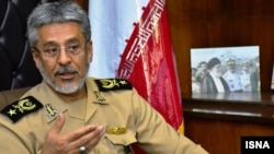 Habibollah Sayyari, a senior regular army commander who indirectly criticized the IRGC in May. FILE PHOTO