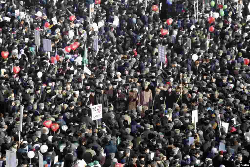 Бу зур урам җыенын Чечня президенты Рамзан Кадыров оештырды