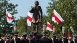 Belarus - Opening of the monument of Tadeush Kasciushka, Murachoushchyna, 12may2018
