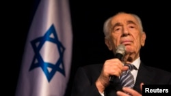 Shimon Peres in 2014