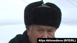 Зейнеткер Қажыомар Қылыев. Талдықорған, 24 қараша 2010 жыл