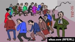 Карикатура Eltuz.com нашридан олинди
