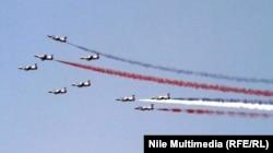Святковий проліт військових літаків над Каїром, 4 липня 2013 року
