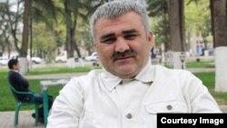 Азербайджанский журналист Афган Мухтарлы.
