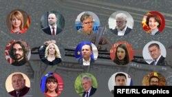 Кандидати за предвремени парламентарни избори 2020