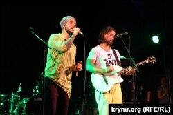 SunSay и Сергей Бабкин на фестивале «Джаз Коктебель», 28 августа 2015 года
