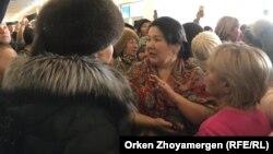 Многодетные матери, собравшиеся сегодня в концертном зале «Астана». 15 февраля 2019 года.