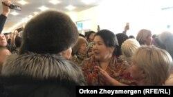 Астанадағы көп балалы аналар наразылығы. 15 ақпан 2019 жыл
