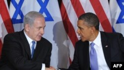 U.S. President Barack Obama (right) and Israeli Prime Minister Benjamin Netanyahu in 2011