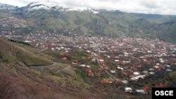 Город Горис, Сюникская область Армении