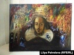 Эскиз декорации Татьяны Спасоломской