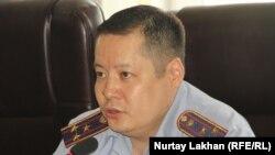 Газиз Нуркаев, заместитель руководителя департамента внутренних дел города Алматы.