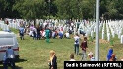 Memorialul Potocari, 11 iulie 2020
