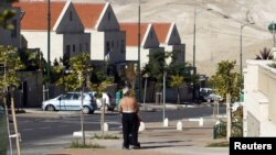 Pamje e një vendbanimi izraelit afër Jerusalemit