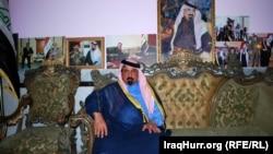 Sheikh Muhammad al-Hayis, a Sunni tribal chief, in Anbar