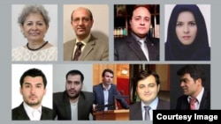 Nine Iranian lawyers from Iran and abroad have joined other activists calling for Ayatollah Khamenei to step down.