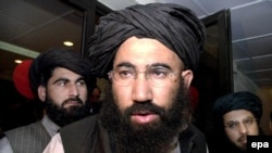 Former Taliban envoy Mullah Abdul Salam Zaeef attended the session (file photo)