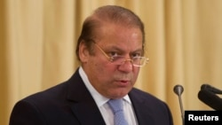 "Pakistan's Prime Minister Nawaz Sharif said he was ready for dialogue with ""all those elements who have unfortunately adopted the path of extremism."""