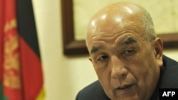 Мохаммад Ибрахим Адел, Ауғанстанстанның тау-кен өнеркәсібі министрі. 3 қазан 2009 жыл.