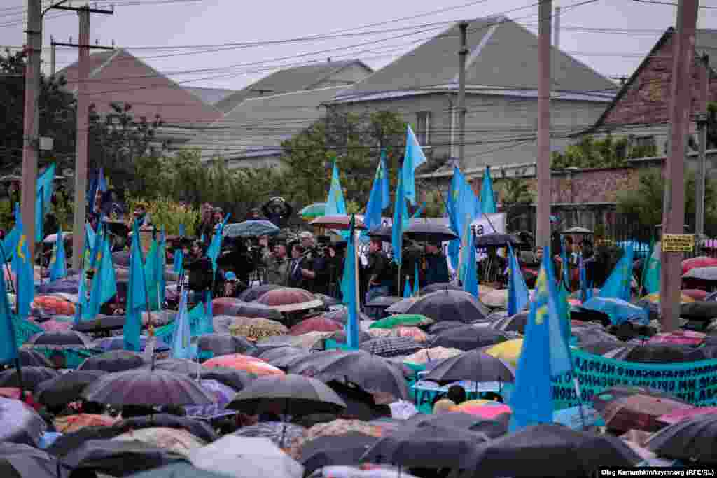 Crimean Tatar people mourning rally on May 18 in Simferopol