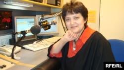 Чехияның адам құқықтары және шағын ұлттар мәселесі жөніндегі бұрынғы министрі Жәмила Стехликова. Прага, 23 қаңтар 2007 жыл.