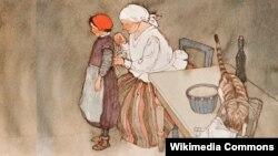 Belarus - 100 words. Lisbeth Zwerger. Little Red Cap