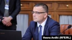 Српскиот министер за земјоделство, шумарство и водостопанство, Бранислав Недимовиќ