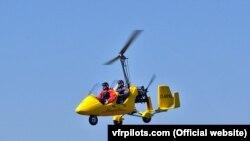 Полёт на гирокоптере