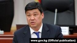 Депутат парламента Бакыт Торобаев.